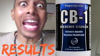 CB-1 weight gain Results Are In