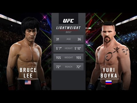 Bruce Lee Vs Yuri Boyka EA Sports UFC 2
