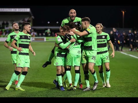 HIGHLIGHTS | Forest Green Rovers 2 Northampton Town 1