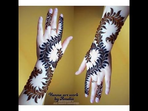 Beautiful Sudanese Henna Designs You Must See Them All Youtube