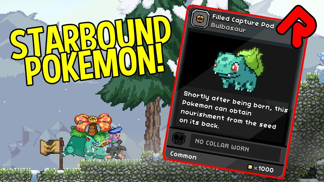 Pokebound mod adds Pokemon to Starbound! (first release) | Best Starbound  mods