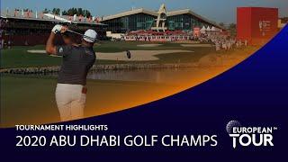 Extended Tournament Highlights | Abu Dhabi HSBC Golf Championship