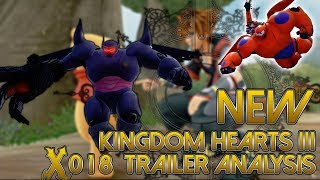NEW Kingdom Hearts 3 Autumn Trailer #X018 Live Analysis