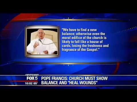 Pope criticizes church emphasis on abortion, gays Signaling a dramatic shift in Vatican tone, Pope F