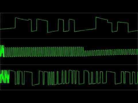 "Rob Hubbard - ""Extirpator"" [Atari 8-bit] (Oscilloscope View)"