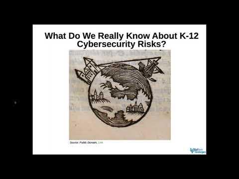 K-12 Cyber-Security Webinar with Douglas Levin