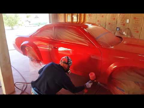 Painting the Rocket Bunny Boss 240
