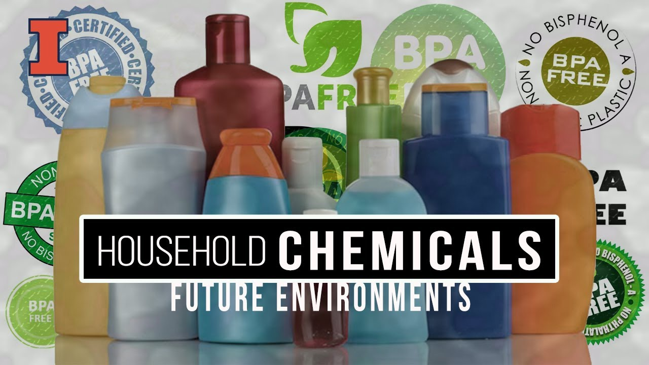 A screenshot from Future Environments: Household Chemicals
