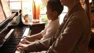 Ballad by Dennis Alexander, the piano duet, Peter, 6