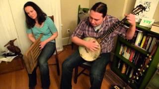 "Nathan Bowles & Sue Santamaria ""Sunflower River Blues"" CXCW 2013"