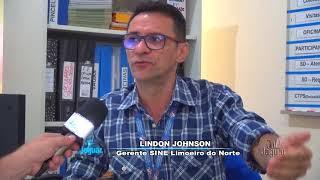 Lindon Johnson relata o desemprego na cidade de Limoeiro do Norte