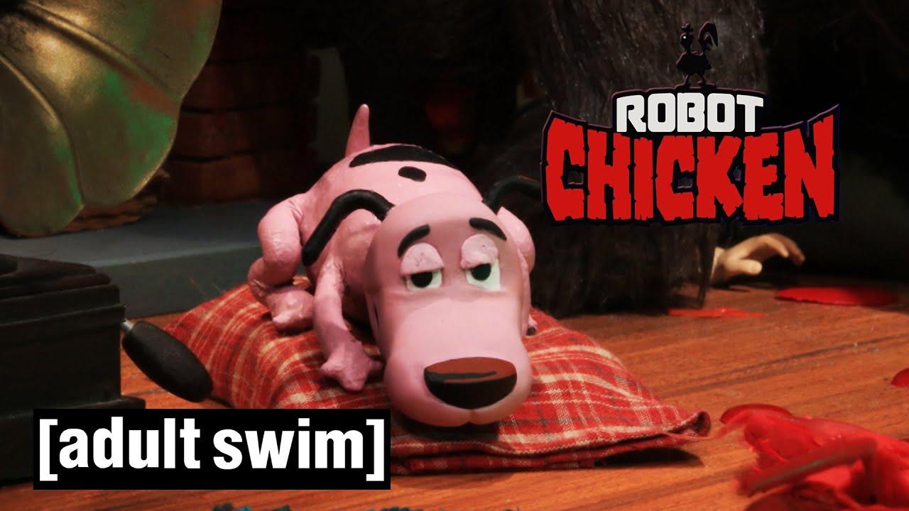 Robot Chicken   90's Random Wolf Attacks   Adult Swim UK 🇬🇧