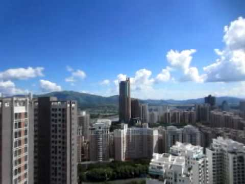 An awesome view of Shenzhen on a wonderful day