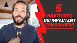 """Résultat de recherche d'images pour """"5 habitudes qui t'empêchent d'être heureux ! Jean Laval"""""""