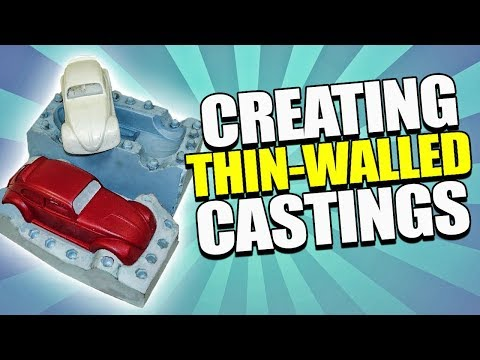 Thin Walled Castings - The Inject Mold Tutorial