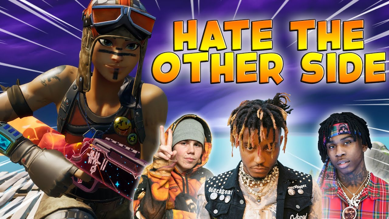 "Fortnite Montage - ""HATE THE OTHER SIDE"" (Juice WRLD, Polo G, The Kid Laroi & Marshmello)"