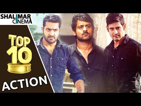 All Time  Top 10 Best Action Scenes    Telugu Movies    Shalimarcinema