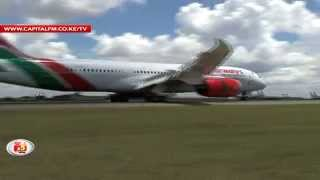 Touchdown, Kenya Airways Dreamliner