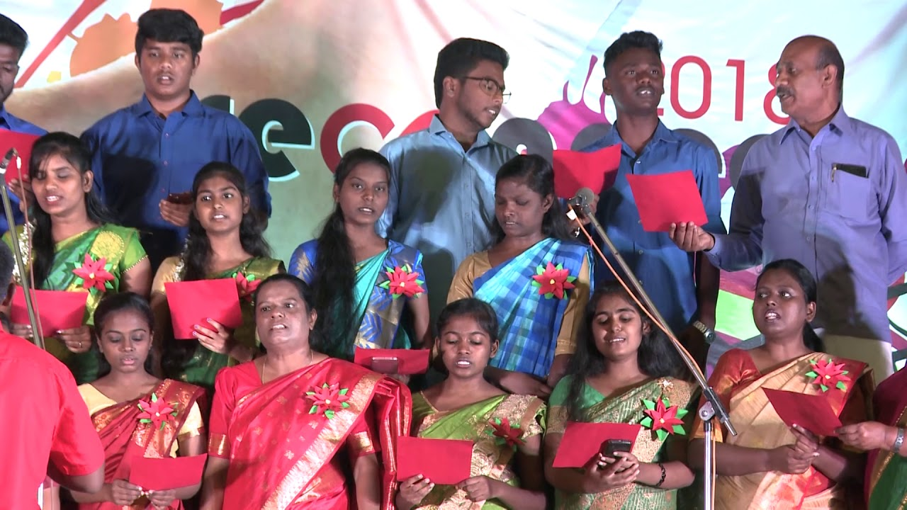 Tamil Choir | He Left Heaven | Spicer Adventist University