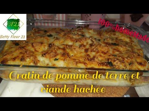 gratin-de-pomme-de-terre-et-viande-hachée--recette-simple-et-rapide