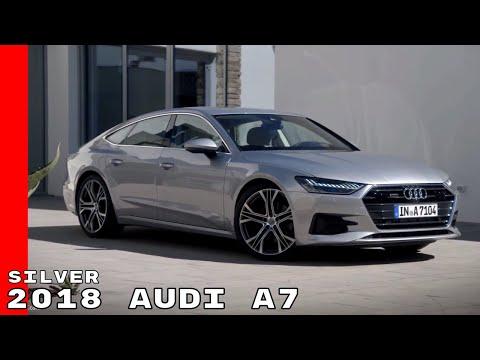 Silver 2018 Audi A7 Exterior, Interior & Drive