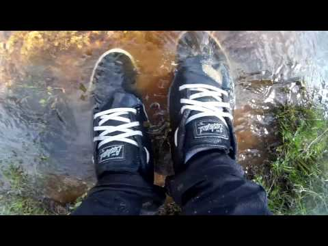 Wet and Muddy Globe Skate Shoes - Part 5
