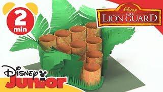 The Lion Guard | Craft Tutorial: Pridelands Ball Game | Disney Junior UK