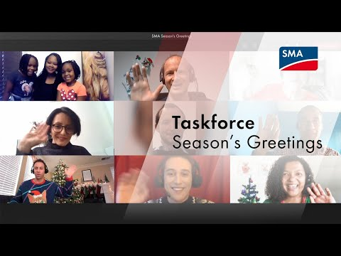 Taskforce Season's Greetings - Behind the Scenes