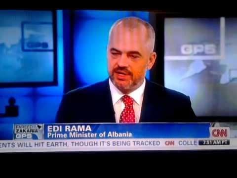 Edi Rama on CNN - Fareed Zakaria