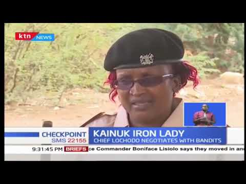 KAINUK IRON LADY: The chief who uses her paramilitary skills to negotiate with bandits