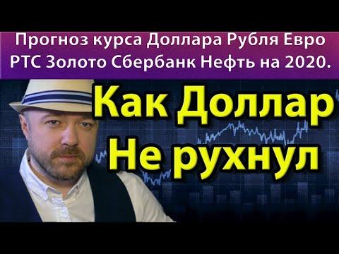 Как доллар не рухнул. Прогноз курса доллара рубля евро ртс золото сбербанк нефть на декабрь 2019