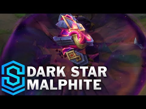 Dark Star Malphite Skin Spotlight - League of Legends