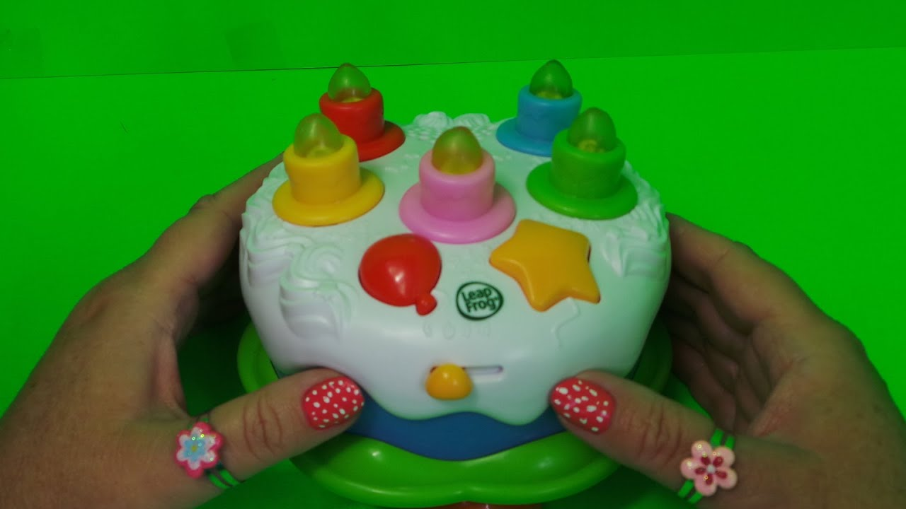 LEAPFROG ELECTRONIC KINDERGARTEN HAPPY BIRTHDAY CAKE Traceys Top Toys