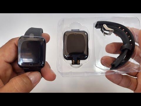 unboxing Smartwatch D13
