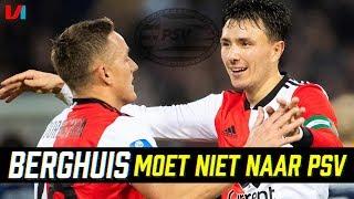 Toornstra Over PSV Interesse in Berghuis: 'Niet De Concurrentie Versterken'