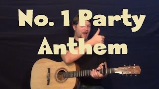 No. 1 Party Anthem (Arctic Monkeys) Easy Guitar Lesson How to Play Tutorial