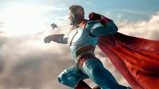 Injustice 2 — Геймплей! Бэтмен, Супермен, Красный фонарь, Супергерл, Аквамен (60 FPS)