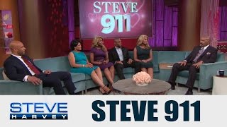 Superficial Twin Sisters Miss Out On Great Guys || STEVE HARVEY