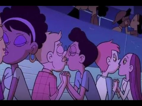 Presenta Disney primer beso gay en serie animada