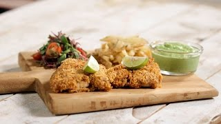 Fish and Chips  Not so Junky - by Chef Siddharth  Sanjeev Kapoor Khazana