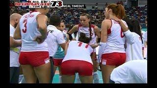 Voleybol güzellikleri - 24.09 - Türkiye - Bulgaristan maçından