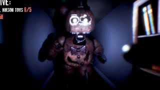 CHASED BY IGNITED FREDDY! HE CAN SPEAK! | FNAF The Return Of Creation (Five Nights at Freddys)