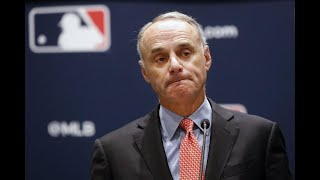 "Rob Manfred says he would have disciplined the Astros' players in ""an ideal world"""