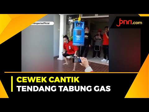 Viral Cewek Cantik Tendang Tabung Gas, Hotman Paris Tawari Jadi Bodyguard