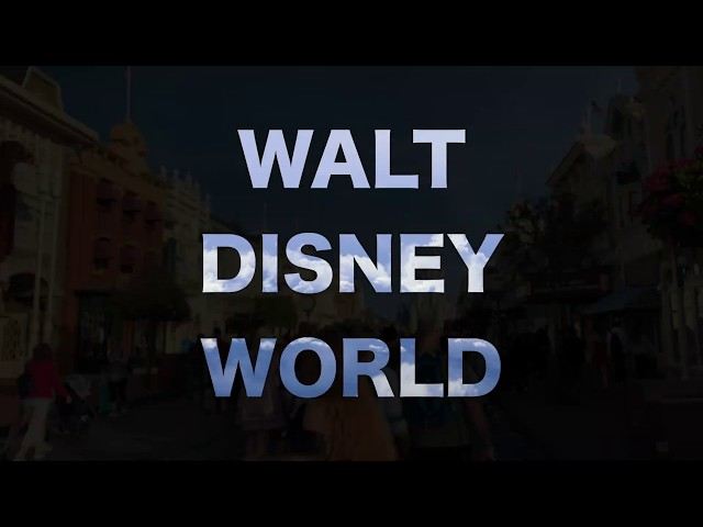 Walt Disney World ✈️: #TenSecondTuesday