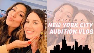 NEW YORK CITY AUDITION VLOG
