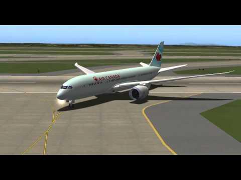 [X-Plane 10] Atterrissage Seattle