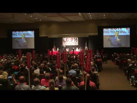 Bruce Rauner addresses 2016 Illinois GOP state convention
