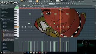 how i made The famous 'Afro arabica'' beat for the dance challenge 20 instagram video award20