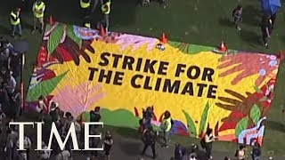 Global Climate Strikes Across The World | TIME